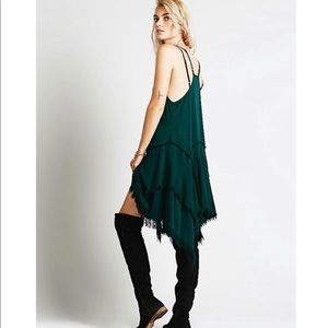Intimately by free people frayed hem dress